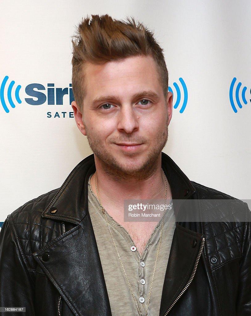 Ryan Tedder of OneRepublic visits at SiriusXM Studios on February 28, 2013 in New York City.