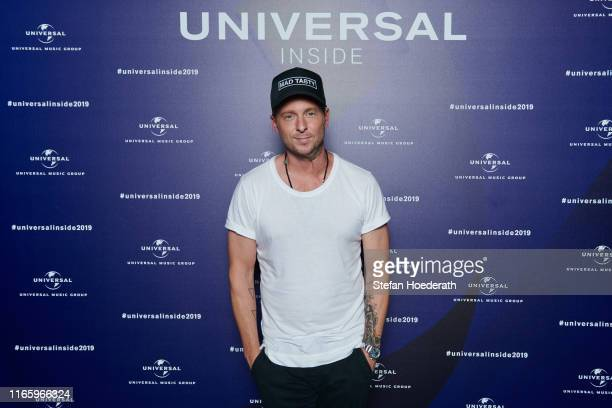 Ryan Tedder poses for a photo during Universal Inside 2019 organized by Universal Music Group at Verti Music Hall on September 4 2019 in Berlin...