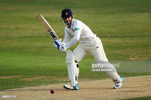 Ryan ten Doeschate of Essex bats during day two of the Specsavers County Championship Division Two match between Essex and Worcestershire at the Ford...
