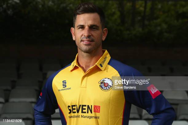 Ryan ten Doeschate of Essex County Cricket Club poses for a portrait during the Essex CCC Photocall at Cloudfm County Ground on April 2 2019 in...