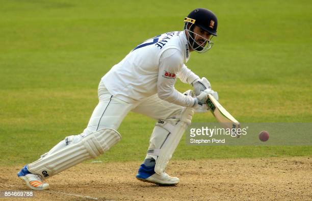 Ryan ten Doeschate of Essex hits out during day three of the Specsavers County Championship Division One match between Essex and Yorkshire at the...