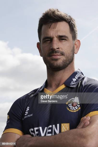 Ryan ten Doeschate poses for a portrait during the Essex CCC photocall at Cloudfm County Ground on April 5 2017 in Chelmsford England