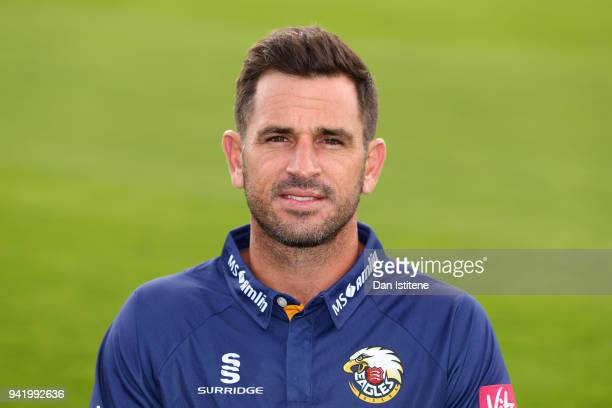 Ryan ten Doeschate Team Captain of Essex County Cricket Club poses in the club's Twenty20 kit during the Essex CCC Photocall at Cloudfm County Ground...