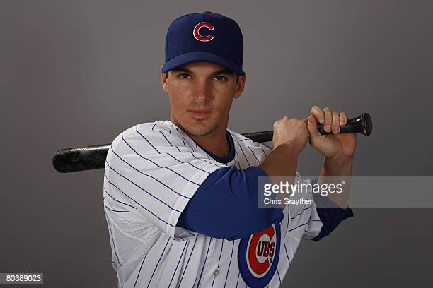 Ryan Theriot of the Chicago Cubs poses for a photo during Spring Training Photo Day on February 25 2008 in Mesa Arizona