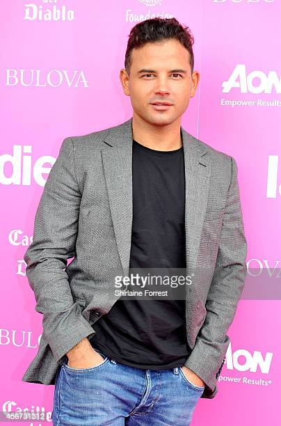 Ryan Thomas attends the Manchester United Foundation Ladies Lunch at Old Trafford on October 6 2014 in Manchester England