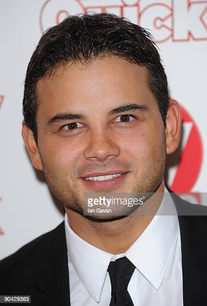 Ryan Thomas attends the TV Quick Tv Choice Awards at The Dorchester on September 7 2009 in London England