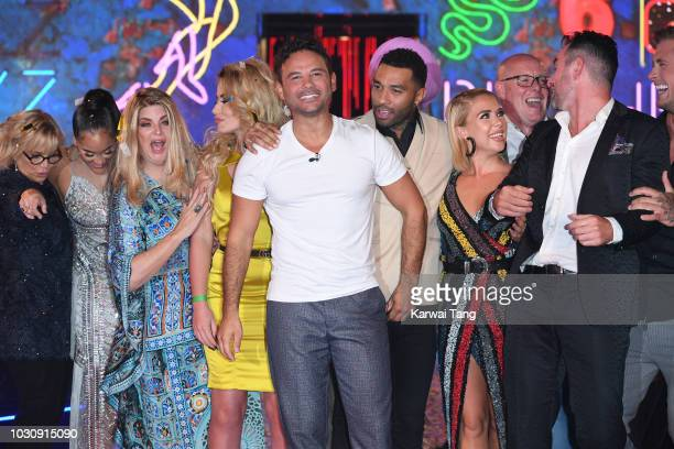 Ryan Thomas is crowned the winner of Celebrity Big Brother 2018 at Elstree Studios on September 10 2018 in Borehamwood England