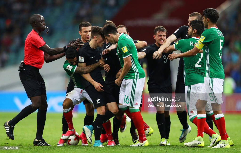 Mexico v New Zealand: Group A - FIFA Confederations Cup Russia 2017 : News Photo