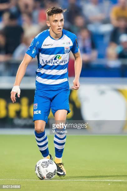 Ryan Thomas of PEC Zwolle during the Dutch Eredivisie match between PEC Zwolle and FC Twente at the MAC3Park stadium on August 26 2017 in Zwolle The...