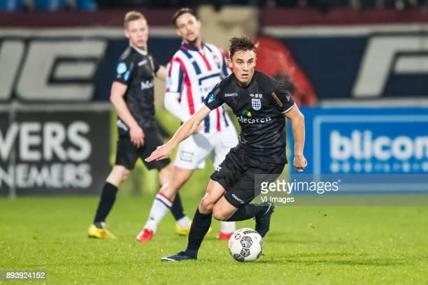 Ryan Thomas of PEC Zwolle during the Dutch Eredivisie match between Willem II Tilburg and PEC Zwolle at Koning Willem II stadium on December 16 2017...