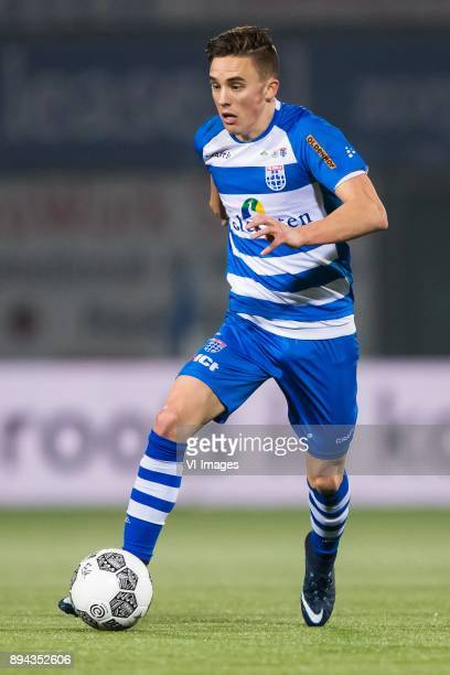 Ryan Thomas of PEC Zwolle during the Dutch Eredivisie match between PEC Zwolle and AZ Alkmaar at the MAC3Park stadium on December 01 2017 in Zwolle...