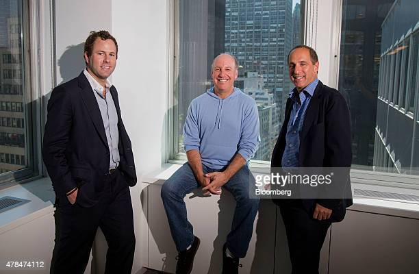 Ryan Tolkin chief investment officer of Schonfeld Group Holdings LLC from left Steven Schonfeld founder chairman and chief executive officer of...