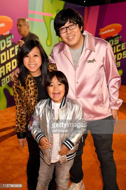 Ryan Toysreview attends Nickelodeon's 2019 Kids' Choice Awards at Galen Center on March 23 2019 in Los Angeles California