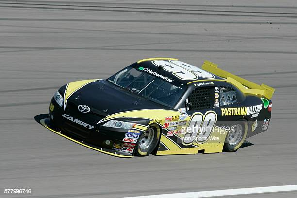 Ryan Truex Pastrana Waltrip Racing Toyota during practice for the 2011 Sam's Town 300 Nationwide Series race at Las Vegas Motor Speedway in Las Vegas...