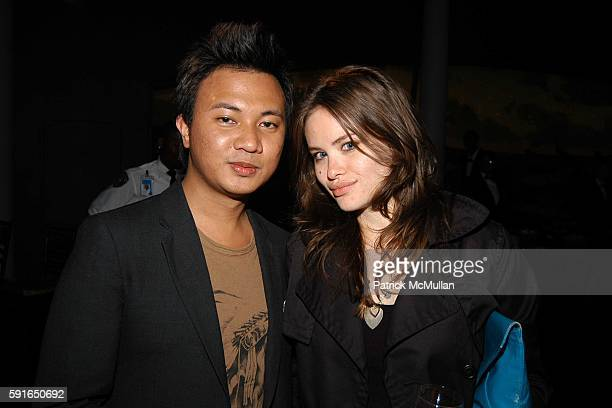 Ryan Urcia and Kristina Ratliff attend Into The West Premiere at American Museum of Natural History on June 6 2005 in New York City
