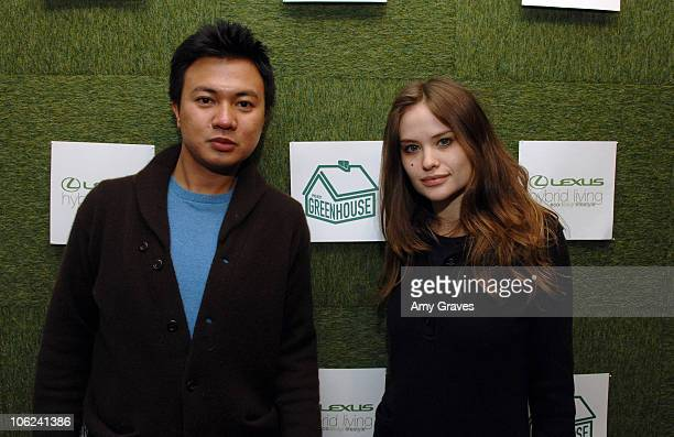 Ryan Urcia and Kristina Ratliff during 2007 Park City Project Greenhouse Presented by Lexus Hybrid Living Day 3 at Project Greenhouse in Park City...