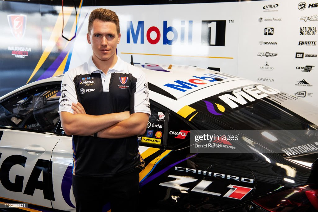 Ryan Walkinshaw team owner of Walkinshaw Racing poses during