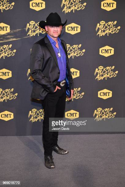 Ryan Weaver arrives at the 2018 CMT Music Awards at Bridgestone Arena on June 6 2018 in Nashville Tennessee
