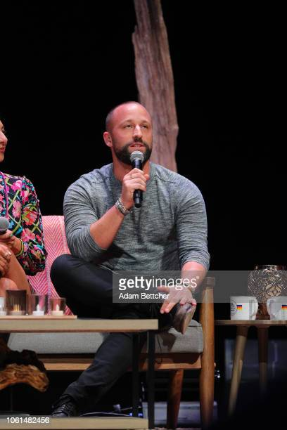 Ryan Weiss speaks at the Hello Sunshine x Together Live presentation at The Pantages Theater on November 13 2018 in Minneapolis Minnesota