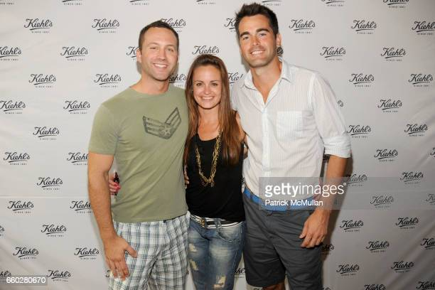 Ryan Wentworth Suzanne Corn and Andrew Freesmeier attend KIEHL'S Party to Support Gay Pride with The Men's Sexual Health Project at KIEHL'S on June...