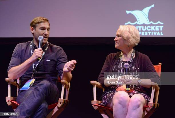 Ryan White and Jean Hargadon Wehner attend 'The Keepers' QA during the 2017 Nantucket Film Festival Day 5 on June 25 2017 in Nantucket Massachusetts