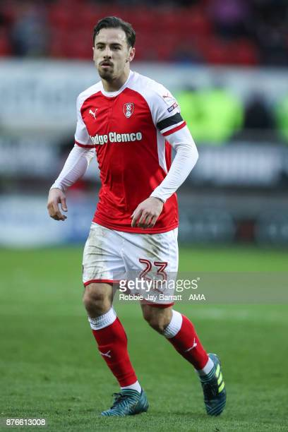 Ryan Williams of Rotherham United during the Sky Bet League One match between Rotherham United and Shrewsbury Town at The New York Stadium on...