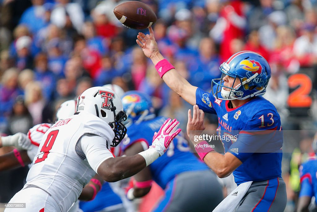 Texas Tech v Kansas : News Photo