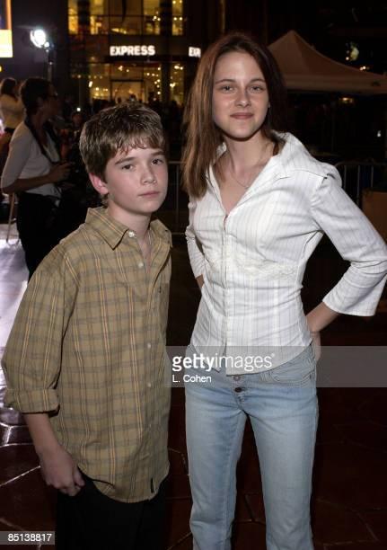 Ryan Wilson and Kristen Stewart