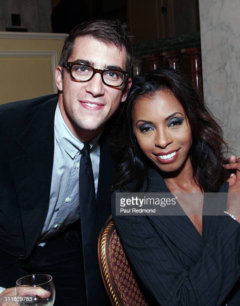 Ryan Wolfe and Khandi Alexander during The Museum of Television Radio Honors Leslie Moonves and Jerry Bruckheimer Inside at Regent Beverly Wilshire...