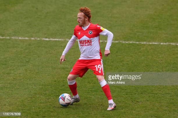Ryan Woods of Millwall during the Sky Bet Championship match between Coventry City and Millwall at St Andrew's Trillion Trophy Stadium on May 8, 2021...