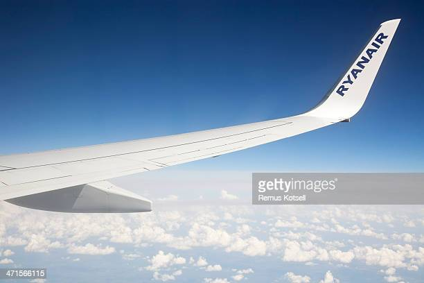 Ryanair Airplane Wing