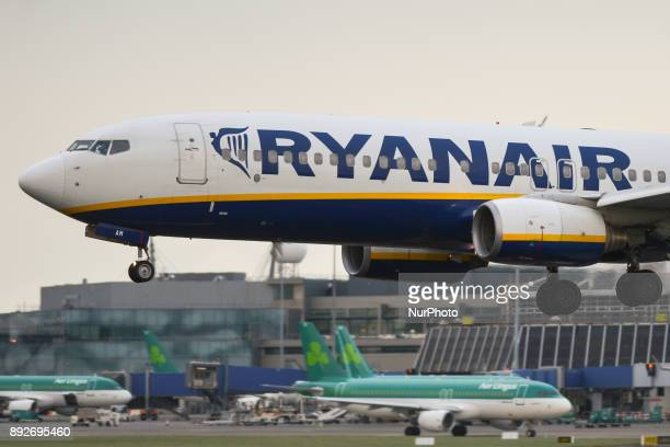 A Ryanair plane is about to land on the runway at Dublin airport Passengers are facing severe travel disruption after Ryanair pilots in Ireland...