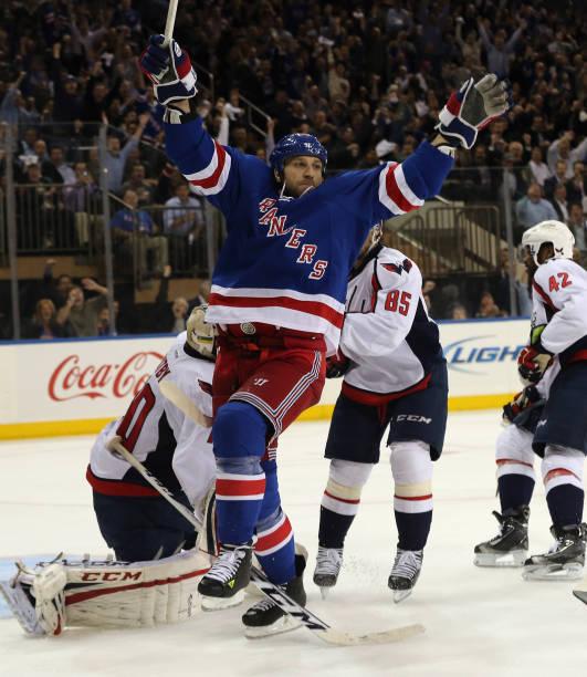 Washington Capitals v New York Rangers - Game Four
