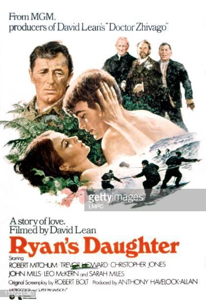 Ryan's Daughter, poster, , Robert Mitchum, Sarah Miles, Christopher Jones, 1970.