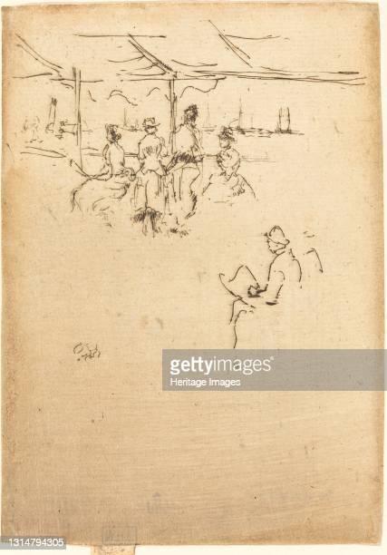 Ryde Pier, 1887. Artist James Abbott McNeill Whistler.