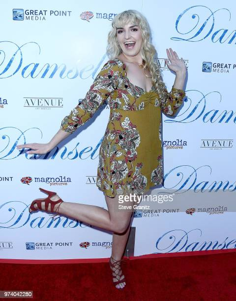 Rydel Lynch arrives at the Magnolia Pictures' 'Damsel' Premiere at ArcLight Hollywood on June 13 2018 in Hollywood California
