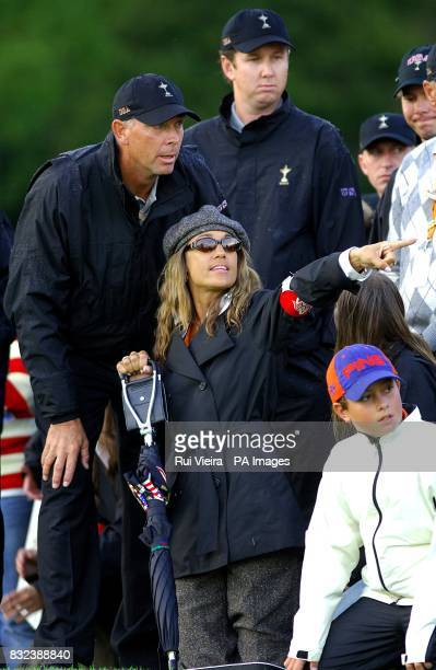 US Ryder Cup Team captain Tom Lehman and wife Melissa