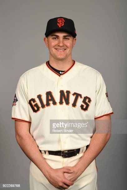 Ryder Jones of the San Francisco Giants poses during Photo Day on Tuesday February 20 2018 at Scottsdale Stadium in Scottsdale Arizona