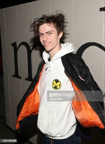 Ryder McLaughlin attends the premiere of A24's Mid90s at West LA Courthouse on October 18 2018 in Los Angeles California
