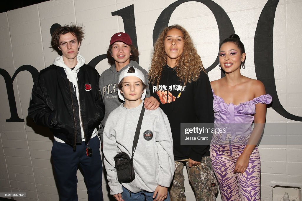 "Premiere Of A24's ""Mid90s"" - Red Carpet : News Photo"