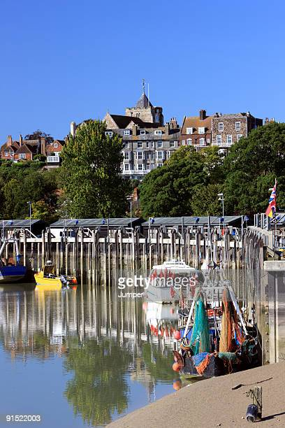 rye, east sussex, uk - rye stock photos and pictures