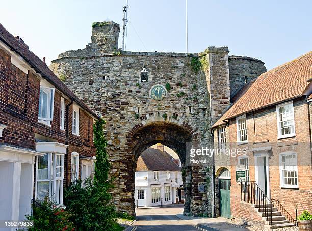 rye in an summer sunday - rye stock photos and pictures
