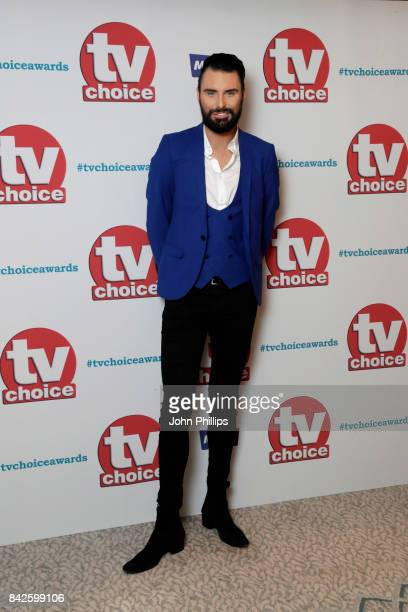 Rylan Clark arrives for the TV Choice Awards at The Dorchester on September 4 2017 in London England