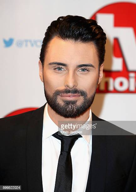 Rylan Clark arrives for the TV Choice Awards at The Dorchester on September 5 2016 in London England
