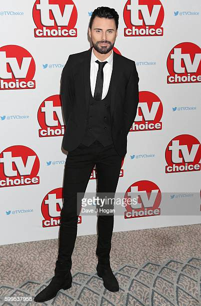 Rylan Clark arrives for the TVChoice Awards at The Dorchester on September 5 2016 in London England