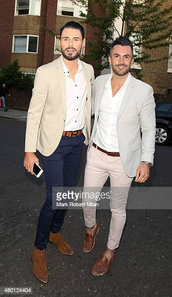 Rylan Clark attending the ITV summer party in Notting Hill on July 9 2015 in London England