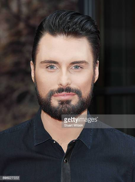 Rylan Clark attends a photocall to launch The X Factor 2016 at Ham Yard Hotel on August 25 2016 in London England
