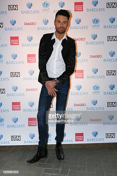 Rylan Clark attends the annual Newsroom's Got Talent event to raise money for the Leonard Cheshire Disability charity and UNICEF at Indigo2 at O2...