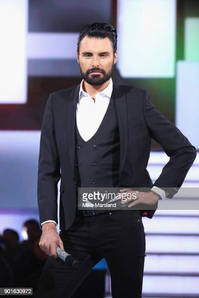 Rylan Clark attends the Celebrity Big Brother male contestants launch night at Elstree Studios on January 5 2018 in Borehamwood England