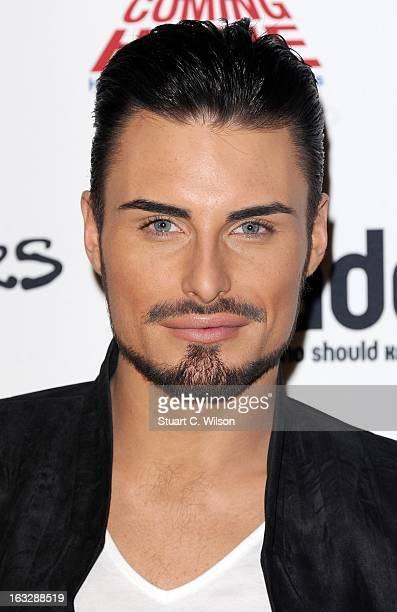 Rylan Clark attends the Loaded LAFTA's at Sway on March 7 2013 in London England